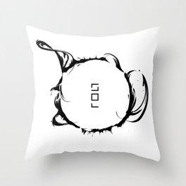 Solar Storm // SUN Throw Pillow