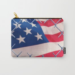Illegal immigration concept Carry-All Pouch