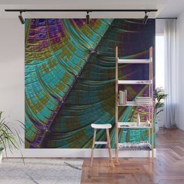 Color Wave Wall Mural