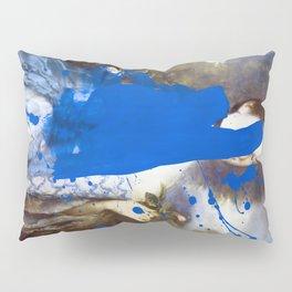 Blue Bomb Pillow Sham