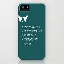 QUOTE-5 iPhone Case