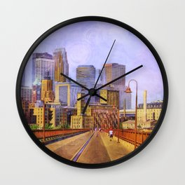 The city is calling my name today. Wall Clock