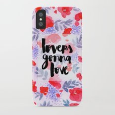 Lovers [Collaboration with Jacqueline Maldonado] Slim Case iPhone X