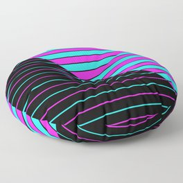 Bright Stripes Floor Pillow