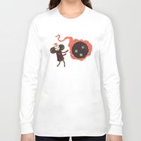 katamari Long Sleeve T-shirts featuring Katamari of the Dead by Hector Mansilla