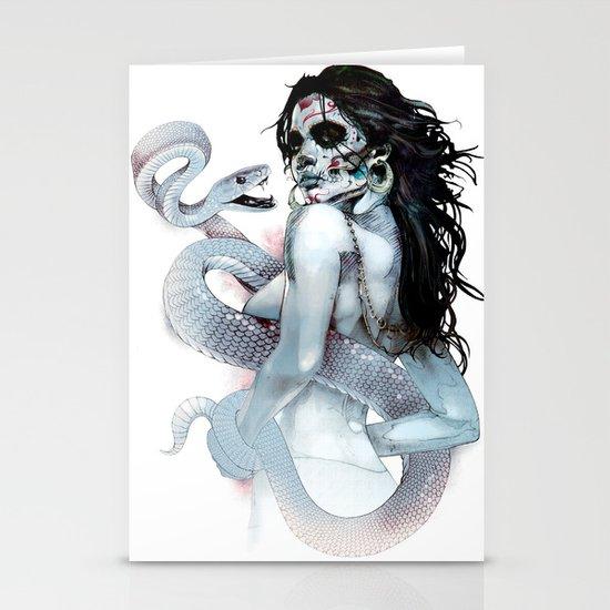 Voodoo Priestess Stationery Cards