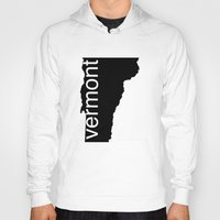 vermont Hoodies featuring Vermont by Isabel Moreno-Garcia