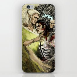 Dragon Age - Templar and Apostate Mage - Cure iPhone Skin