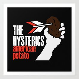 American Potato Art Print