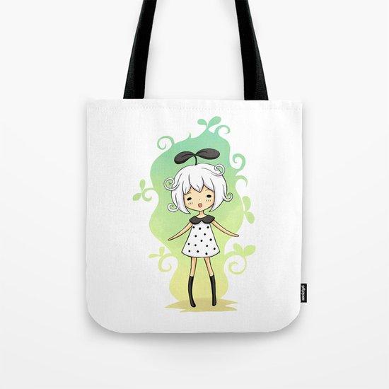 Bean Girl Tote Bag