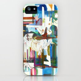 Plaid Passage iPhone Case