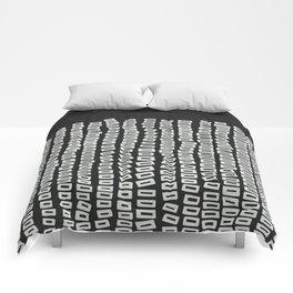 White Bricks Comforters