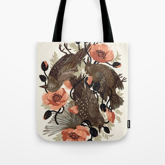 Spangled & Plumed Tote Bag