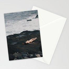El corazón ama lo simple Stationery Cards