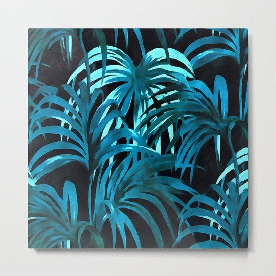 Palm leaves II Metal Print