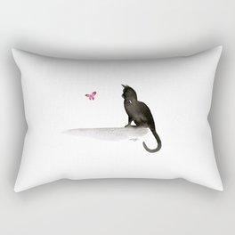 I Love Cats No.4 by Kathy Morton Stanion Rectangular Pillow