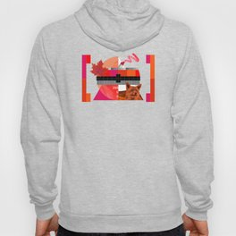 Waiting for the show to begin (Test Pattern 6) Hoody