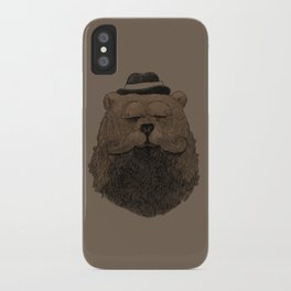 Grizzly Beard iPhone Case