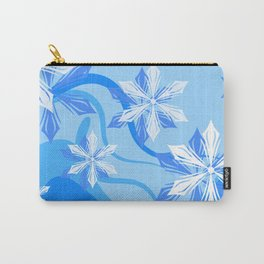 The Flower Abstract Holiday Carry-All Pouch