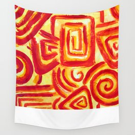 Sun circles Wall Tapestry