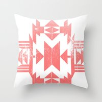 tribal Throw Pillows featuring Tribal by Molnár Roland
