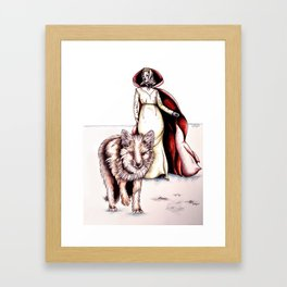Follow Me, Said the Fox Framed Art Print