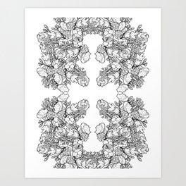 Ink to Paper - Silent Wilderness Art Print