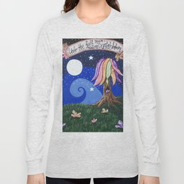 Full Moon Magic Long Sleeve T-shirt