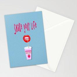 Milk shake  Stationery Cards