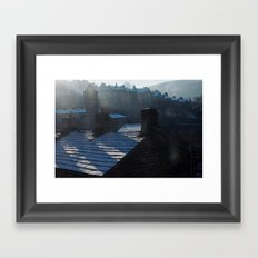 november rooves Framed Art Print