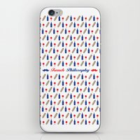 philosophy iPhone & iPod Skins featuring PHILOSOPHY by Necdet Sahin