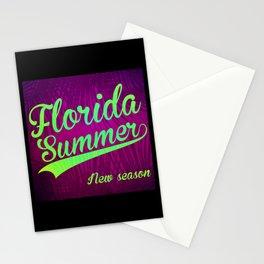 Florida Summer Stationery Cards