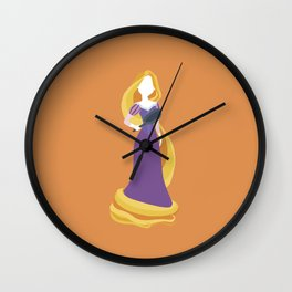 Princess Rapunzel Wall Clock