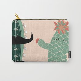 Mr. and Mrs Succulent Carry-All Pouch