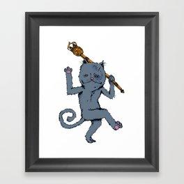 King of the Cats: Tom Tildrum Framed Art Print