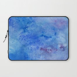 Mariana Trench Watercolor Texture Laptop Sleeve