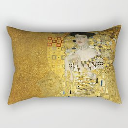 Gustav Klimt - Portrait of Adèle Bloch Bauer Rectangular Pillow