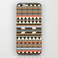 high iPhone & iPod Skins featuring DG Aztec No.1 by Dawn Gardner