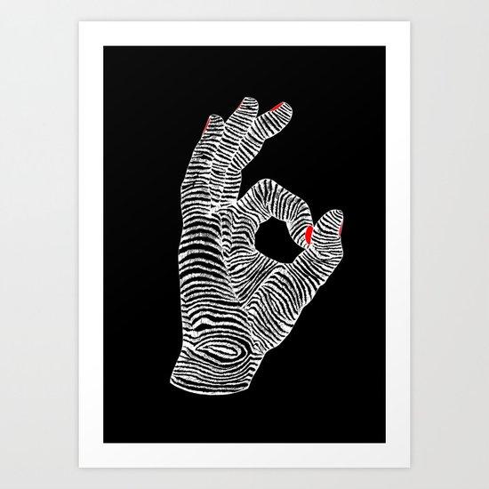 You're Okay Art Print
