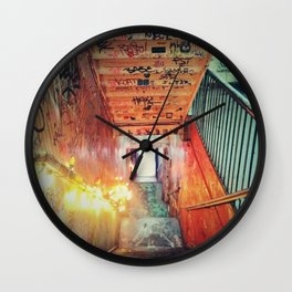 kiosk nyc Wall Clock