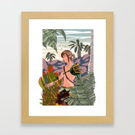 Spring of Courage Framed Art Print