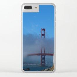 Golden Gate Brigde Clear iPhone Case
