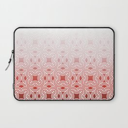 Ombre Abstract Circle Pattern Laptop Sleeve
