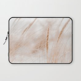 Beach Grass Pastel Colored Photo | Plantlife Photography | Warm Glow On Beach Grass Laptop Sleeve