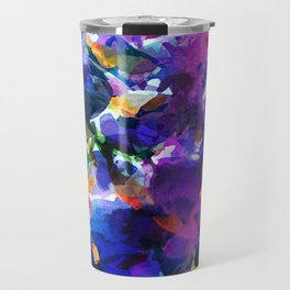 Royal Blue Garden Travel Mug