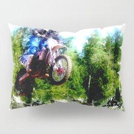 """""""Dare to Fly"""" Motocross Racer Pillow Sham"""