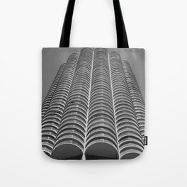 Marina City Tower Photo, Chicago, Architecture Tote Bag