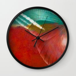 Moths 3 Wall Clock