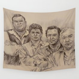 Western Cowboys Wall Tapestry