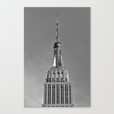 Tip Of The Empire State Building Canvas Print